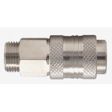 Бърза връзка c клапан за маркуч R1/2